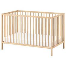 SNIGLAR СНІГЛАР, Ліжко для немовлят, бук60х120 см