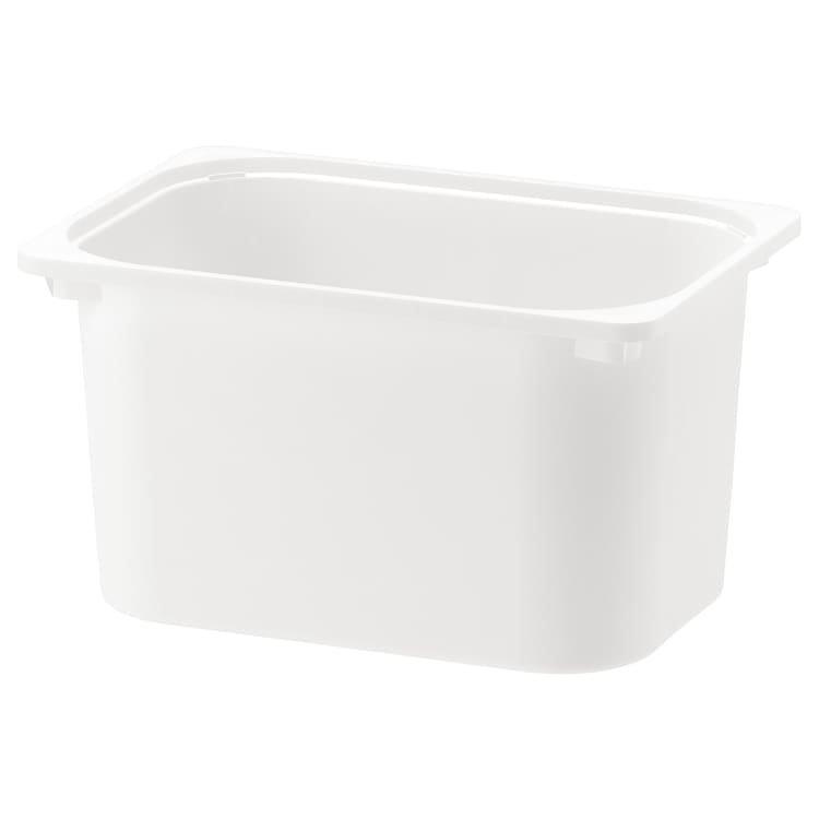 TROFAST ТРУФАСТ, Коробка для зберігання, білий42x30x23 см
