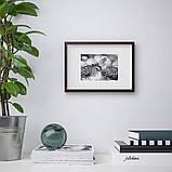 HOVSTA ХОВСТА, Рамка, темно-коричневий21x30 см, фото 2