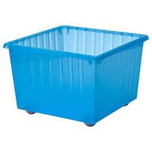 VESSLA ВЕССЛА, Коробка на коліщатах, синій39х39 см