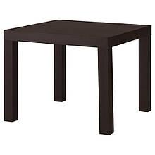 LACK ЛАКК, Журнальний столик, чорно-коричневий55x55 см