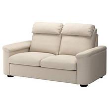 LIDHULT ЛІДХУЛЬТ, 2-місний диван-ліжко, ГАССЕБОЛЬ світло-бежевий