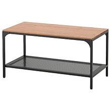 FJÄLLBO ФЙЕЛЛЬБУ, Журнальний столик, чорний90x46 см