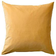 SANELA САНЕЛА, Чохол для подушки, золотаво-коричневий50x50 см
