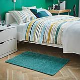 LANGSTED ЛАНГСТЕД, Килим, короткий ворс, бірюзовий60x90 см, фото 3