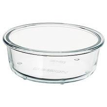 IKEA 365+, Харчовий контейнер, круглої форми, скло400 мл