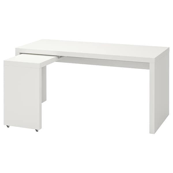 MALM МАЛЬМ, Письмовий стіл із висувною панеллю