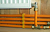 Труба гофрированная 20мм из нержавеющей стали с ПЭ оболочкой для газа Dispipe 20HFPY, отожженная, фото 5