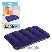 Надувная подушка Intex 68672, для туризма, плавания, 43х28х9 см