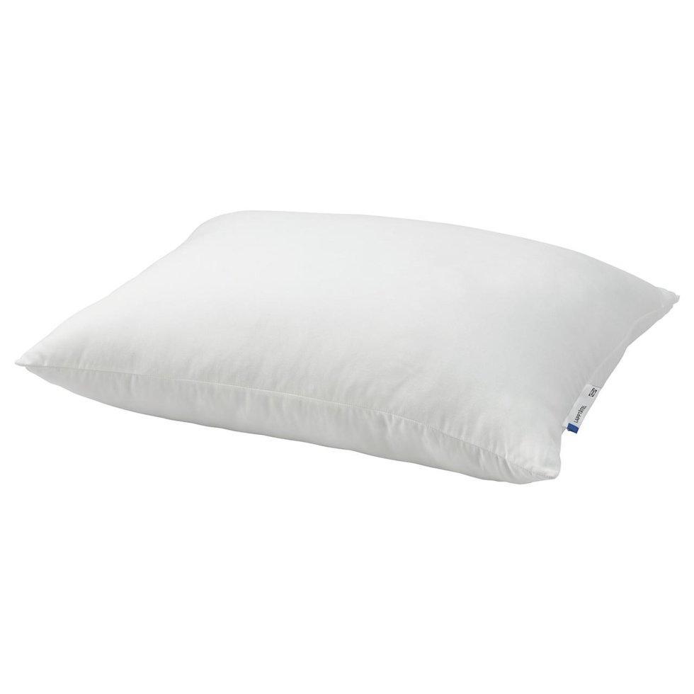 LAPPTÅTEL ЛАППТОТЕЛЬ, Подушка, висока д/сну на боці/спині50х60 см