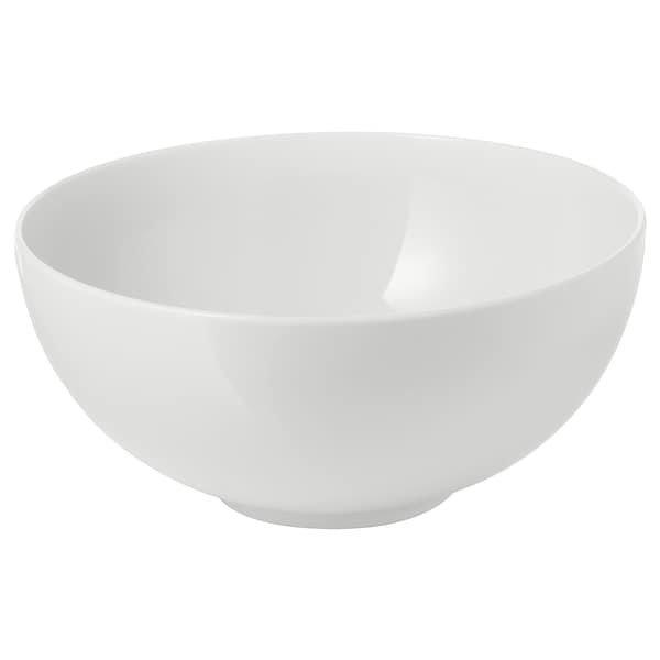 IKEA 365+, Миска, із заокругленими стінками білий22 см