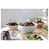 IKEA 365+, Миска, із заокругленими стінками білий22 см, фото 4