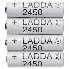 LADDA ЛАДДА, Батарейка акумуляторнаHR6 AA 1,2
