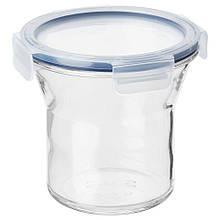IKEA 365+, Банка із кришкою, скло, пластик1.0 л