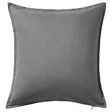 GURLI ГУРЛІ, Чохол для подушки, сірий50x50 см