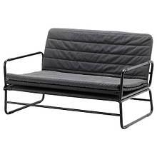 HAMMARN ХАММАРН, Диван-ліжко, КНІСА темно-сірий, чорний120 см