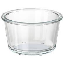 IKEA 365+, Харчовий контейнер, круглої форми, скло600 мл