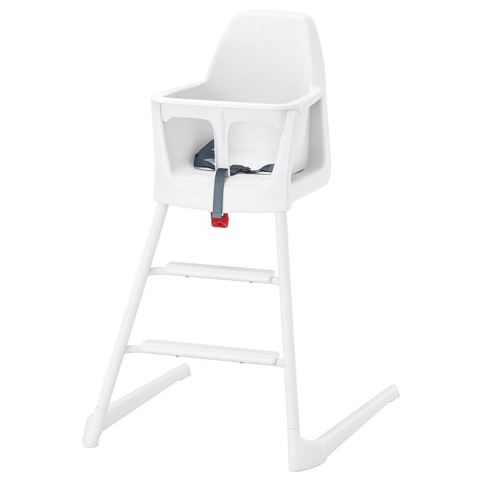 LANGUR ЛАНГУР, Дитячий стілець/стільчик д/годуван, білий