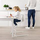 LANGUR ЛАНГУР, Дитячий стілець/стільчик д/годуван, білий, фото 4