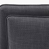 VALLENTUNA ВАЛЛЕНТУНА, Модуль кутів 3-місного дивана-ліжка, відділення д/зберігання, ХІЛЛАРЕД темно-сірий, фото 8