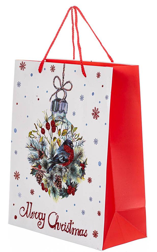 Пакет новогодний    32*26*12 (8209-002)