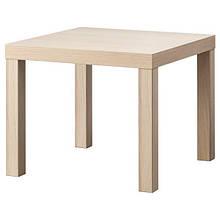 LACK ЛАКК, Журнальний столик, під білений дуб55x55 см