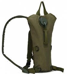 Рюкзак туристический с питьевой системой HLV B09 Olive