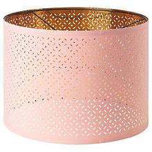 NYMÖ НІМО, Абажур, рожевий, латунний44 см