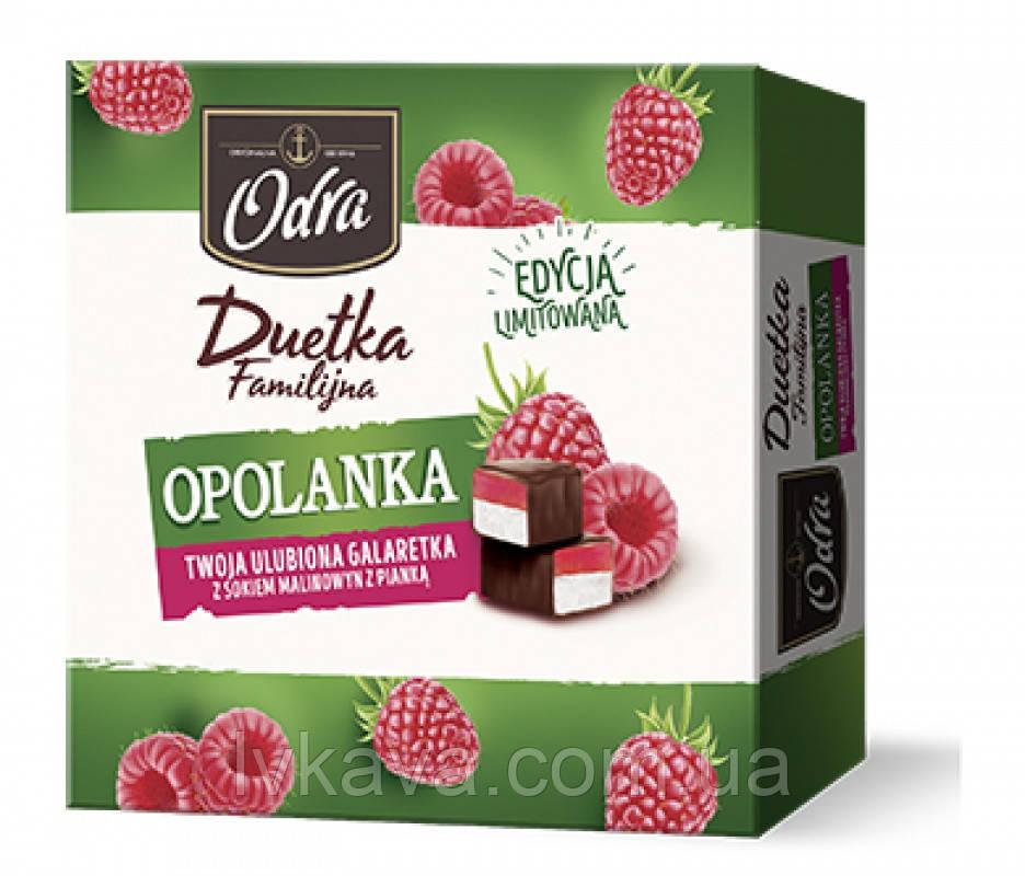 Конфеты желе в шоколаде  Duetka Opolanka malinowa Odra , 420 гр