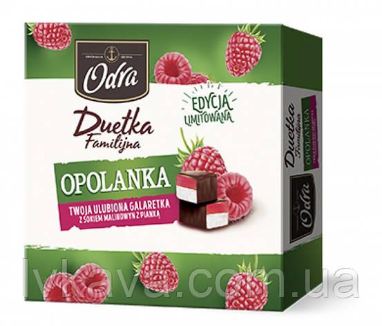 Конфеты желе в шоколаде  Duetka Opolanka malinowa Odra , 420 гр, фото 2