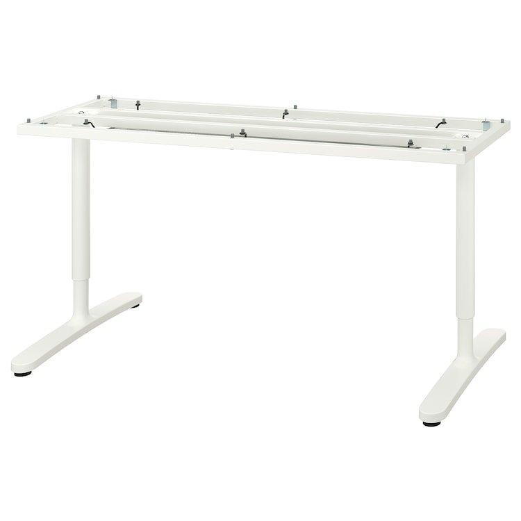 BEKANT БЕКАНТ, Рама стільниці, білий160x80 см