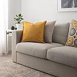 GURLI ГУРЛІ, Чохол для подушки, золотаво-жовтий50x50 см, фото 4