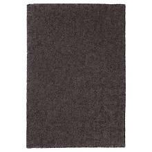 STOENSE СТОЕНСЕ, Килим, короткий ворс, темно-сірий133х195 см