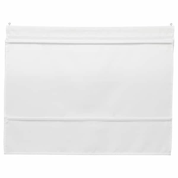 RINGBLOMMA РІНГБЛОММА, Римські штори, білий100x160 см