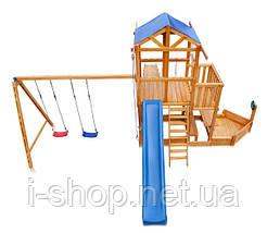 Детская площадка - Капитан с зимней горкой Babyland-13, фото 3