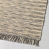 TAULOV ТАУЛОВ, Килим, пласке плетіння, бежевий60x90 см, фото 2