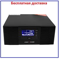 ИБП LPM-PSW 1500VA (1050Вт) 10/20А 12V с правильной синусоидой, фото 1