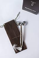 Роликовий масажер 0,Welderma Face Liftinng Dark Silver Roller, фото 1
