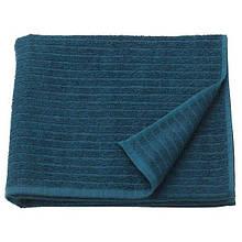VÅGSJÖN ВОГШЕН, Банний рушник, темно-синій70x140 см