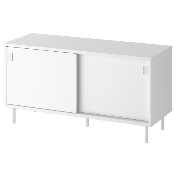 MACKAPÄR МАККАПЕР, Лавка з відділеннями для зберігання, білий100x51 см