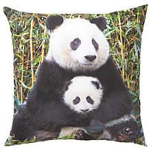 URSKOG УРСКОГ, Подушка, панда різнобарвний50x50 см