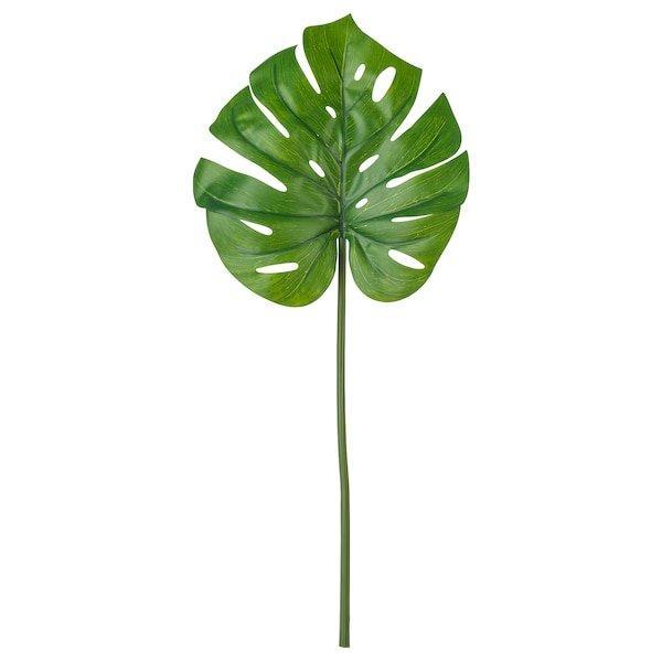SMYCKA СМЮККА, Штучний листок, Монстера, зелений80 см