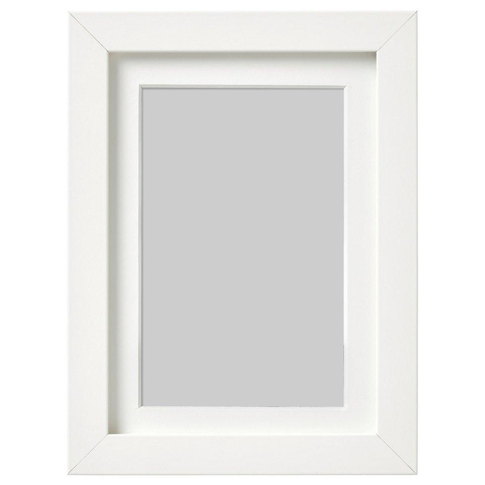 RIBBA РІББА, Рамка, білий13x18 см