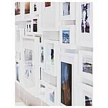 RIBBA РІББА, Рамка, білий13x18 см, фото 2
