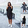 Р 50-60 Спортивне плаття з капюшоном Батал 22704