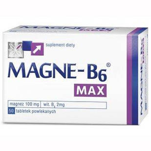 Sanofi, Magne B6 MAX 100 mg + 2 mg, 50 таб