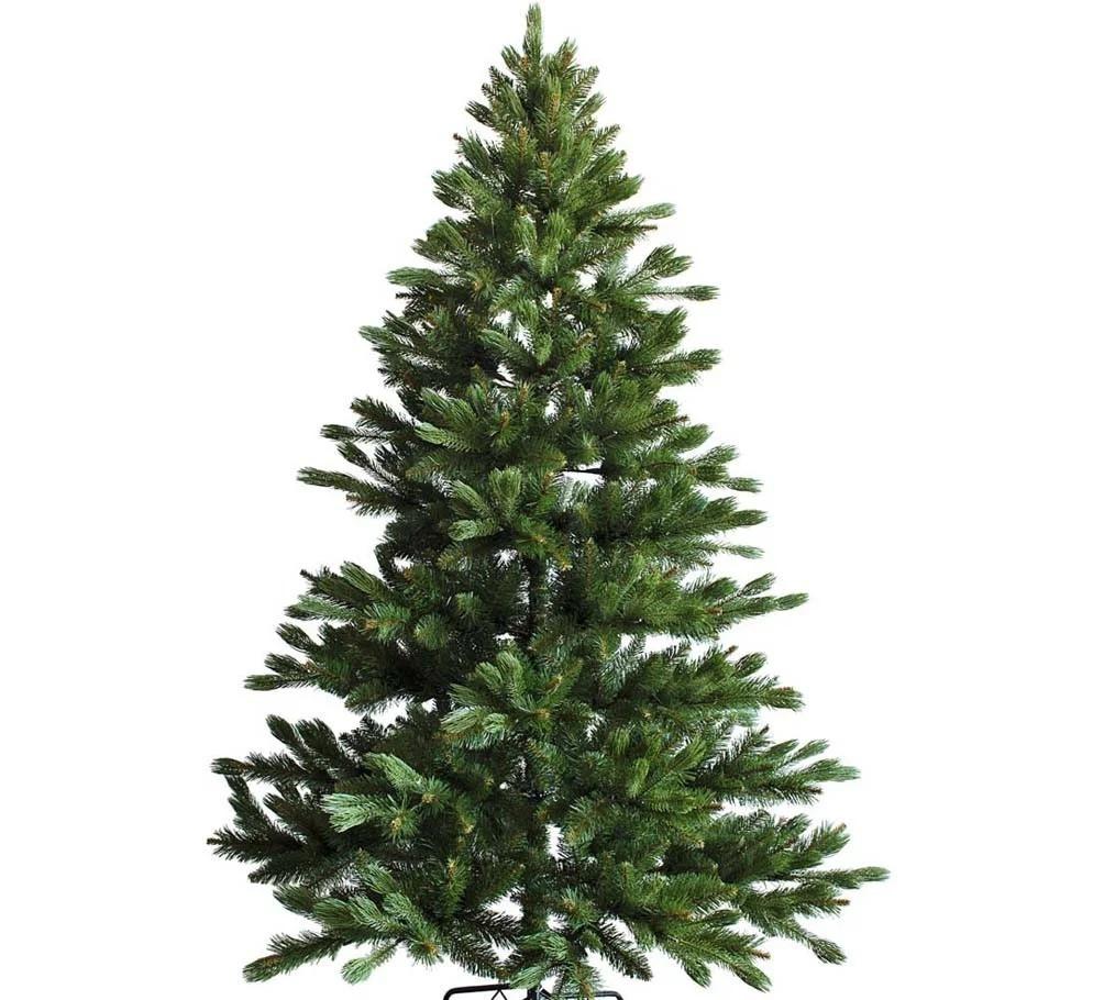 """Новогодняя искусственная елка 2,70 м литая """"Южанка"""" зеленая"""