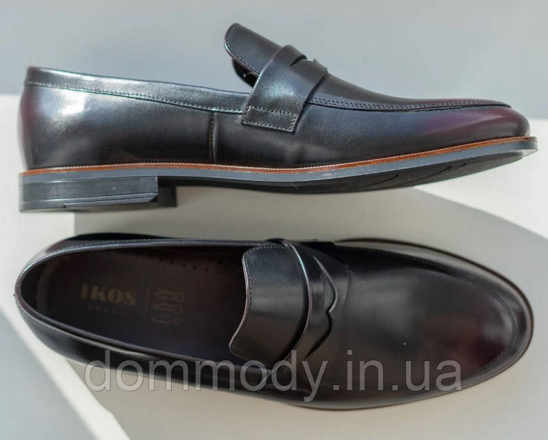 Туфли мужские бордового цвета Gray