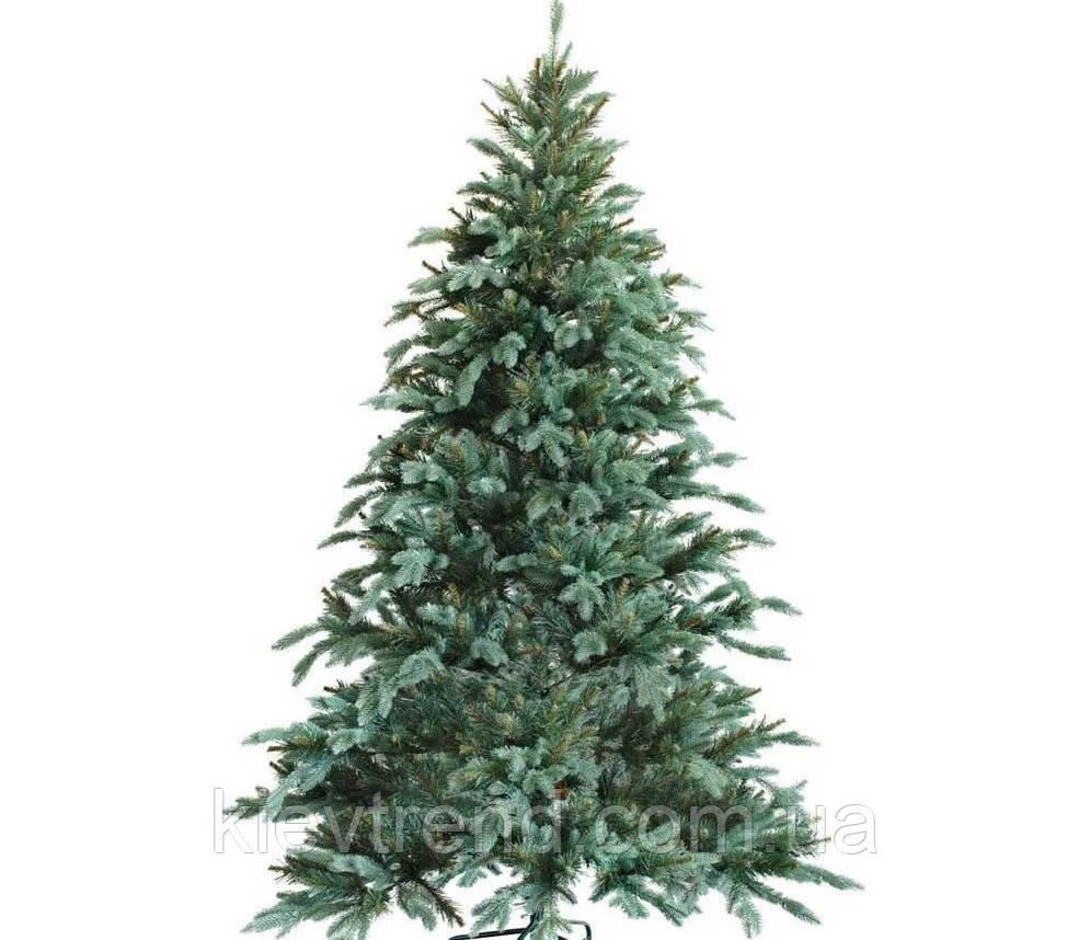 """Новогодняя искусственная елка 1,50 м литая """"Ситхинская"""" голубая"""