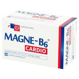 Sanofi, Magne B6 Кардио, + калий, вит В1, экстракт боярышника 50 таб, покрытых пленочной оболочкой